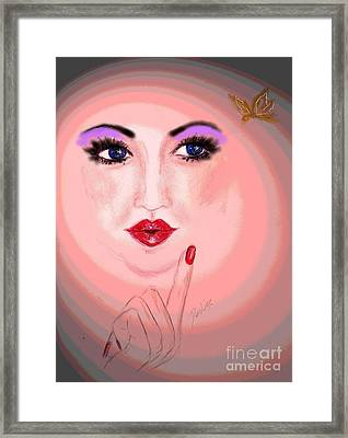 Watch It Framed Print by Desline Vitto
