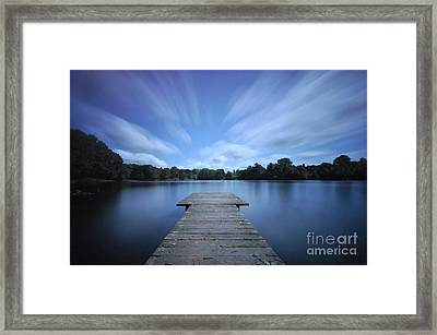 Watch The Day Go By Framed Print