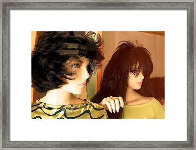 Watch Them Out There Framed Print by Jez C Self