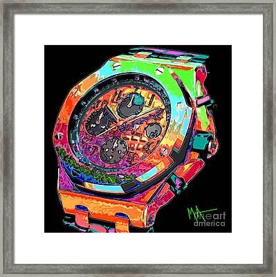 Watch This Framed Print