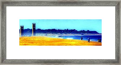 Watch Tower Framed Print