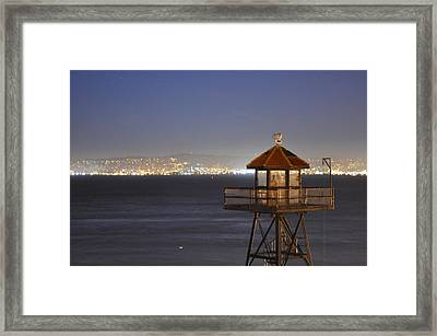 Watch Tower Of The West Framed Print by Greg McDonald