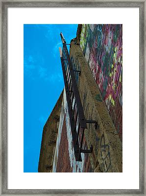 Watch Your Step Framed Print by Timothy Hedges