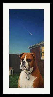 Watchdog Framed Prints
