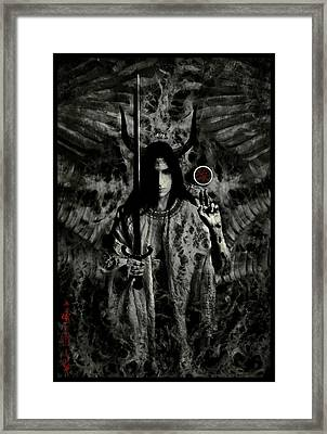 Watcher Framed Print by Cambion Art