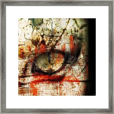 Watcher Framed Print by Ken Walker