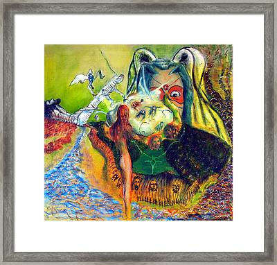 Watcher Of The Skies Framed Print by Albert Puskaric
