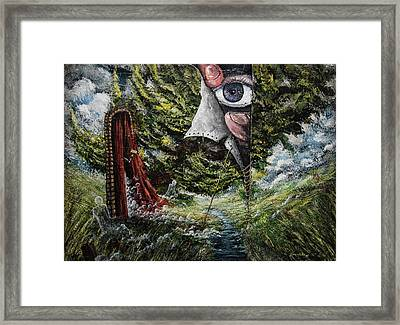 Watchers  Framed Print