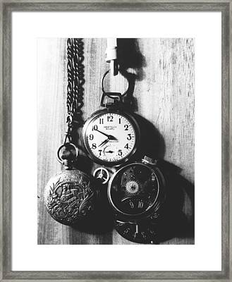 Framed Print featuring the photograph Watches by Don Youngclaus