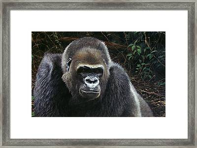 Watchful Domain Framed Print