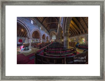 Watching Angels Framed Print by Ian Mitchell