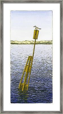 Watching From Number 2 Framed Print by Charles Harden