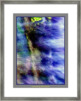 Watching From The Trees Framed Print by Jane Tripp