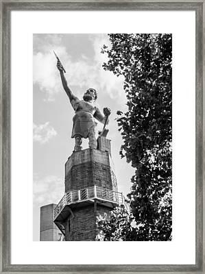 Watching Over Birmingham Framed Print by Parker Cunningham