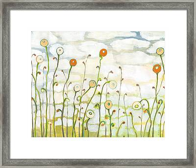 Watching The Clouds Go By No 2 Framed Print by Jennifer Lommers