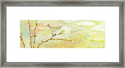 Watching The Clouds No 3 Framed Print by Jennifer Lommers