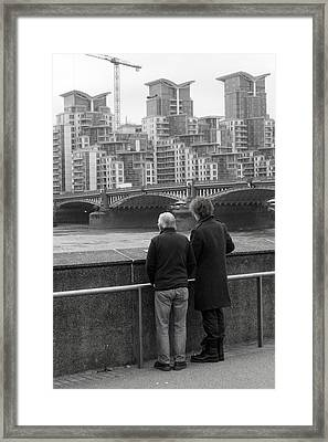 Watching The World Change Framed Print by Jez C Self