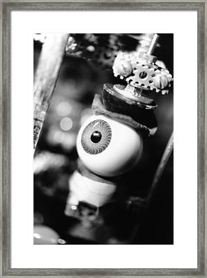 Watching You Framed Print by Jeffery Ball