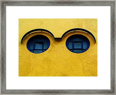 Watching You ... Framed Print by Juergen Weiss