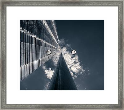 Watching You Framed Print by Nico T