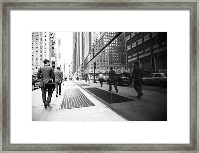 Watching Yourself Framed Print by Karol Livote