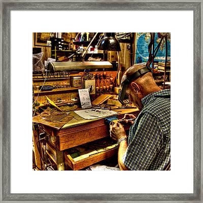 Watchmaker Framed Print
