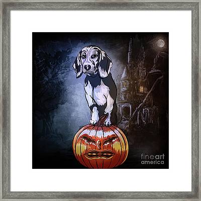 Watchman. Framed Print