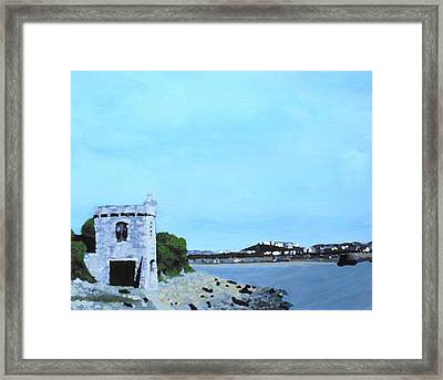Watchtower Bay Framed Print
