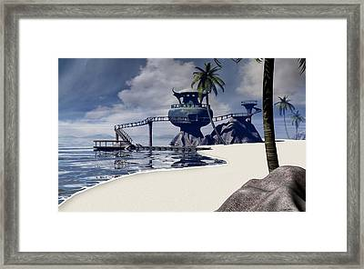 Watchtower Beach Framed Print