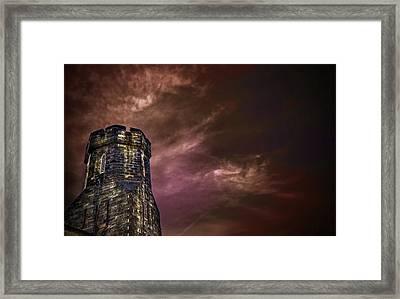 Watchtower Framed Print by Evelina Kremsdorf