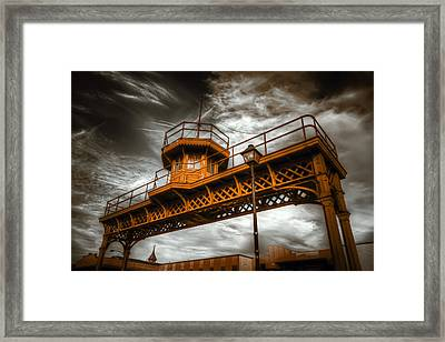 All Along The Watchtower Framed Print