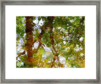 Water Abstract 17 Framed Print by Joanne Baldaia - Printscapes