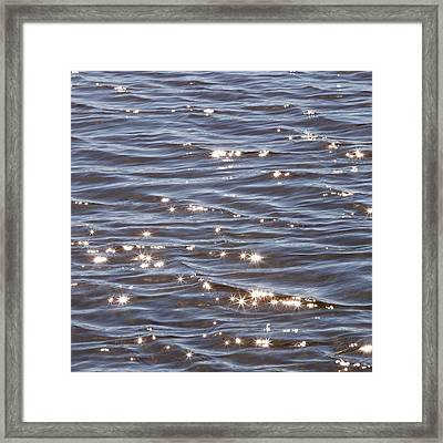 Water Abstract 2 Framed Print
