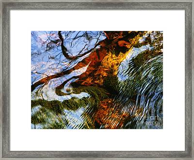 Water Abstract 24 Framed Print