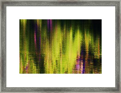 Water Abstract 3 Framed Print by Russell  Barton