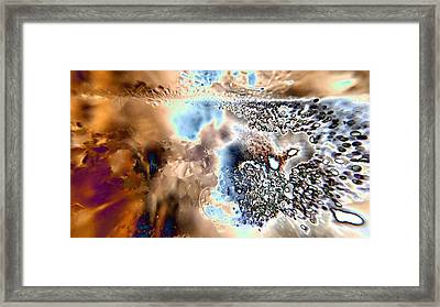 Water Abstract 9 Framed Print