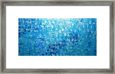 Water And Light 2016 Framed Print