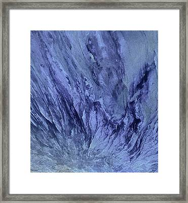 Water And Rock Framed Print