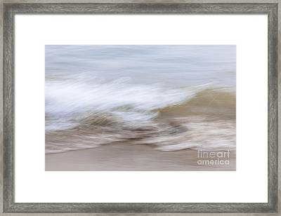 Water And Sand Abstract 2 Framed Print by Elena Elisseeva