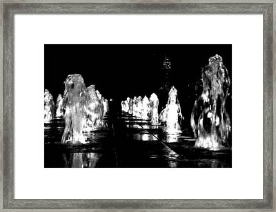 Water Angels Framed Print by Andrew Dinh