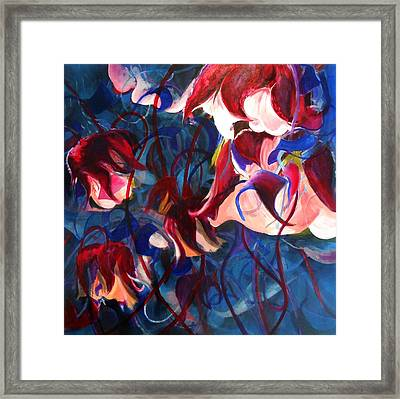 Framed Print featuring the painting Water Avens II by Georg Douglas