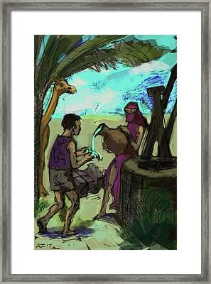 Water Bearer Framed Print