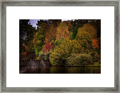 Framed Print featuring the photograph Water Cascade by Ryan Photography