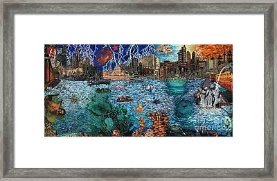 Water City Framed Print