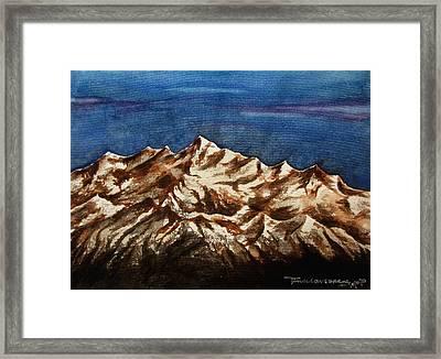 Water Color-6 Framed Print