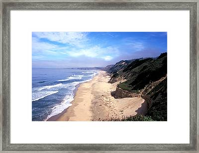 Water Color Sky Framed Print by Kathy Yates