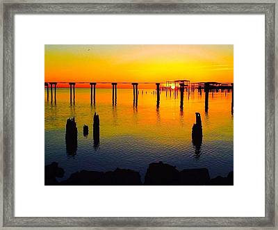 Water Colours Framed Print by John Patin