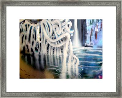 Water Creature Framed Print