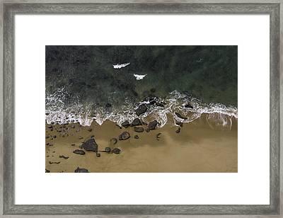 Water Dance Framed Print