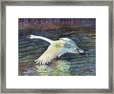 Water Dancer Framed Print by Hailey E Herrera